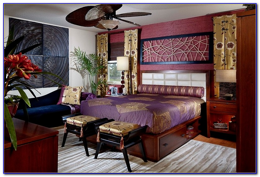 Oriental Style Bedroom Ideas