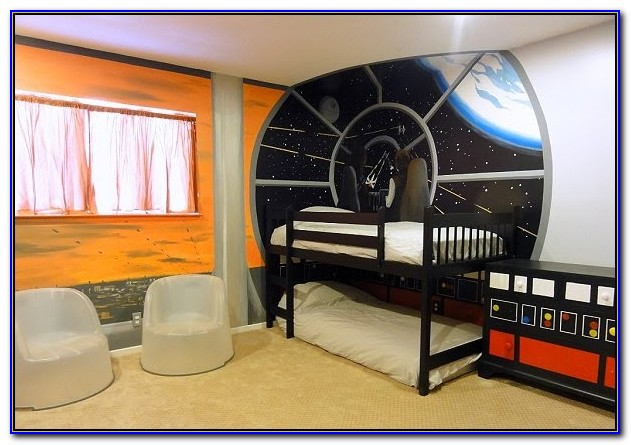 Outer Space Room Decorating Ideas