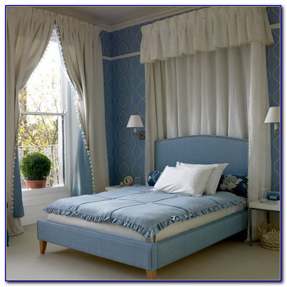 Pale Blue Bedroom Decorating Ideas