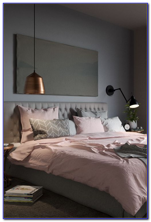 Pink And Gray Bedroom Decor