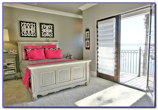 Pink And Gray Bedroom Pictures