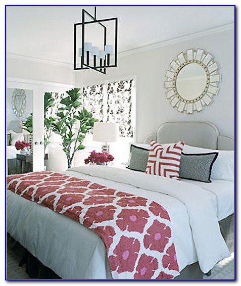 Pink And Grey Bedroom Decor