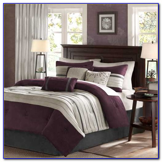 Plum And Gray Bedroom Colors