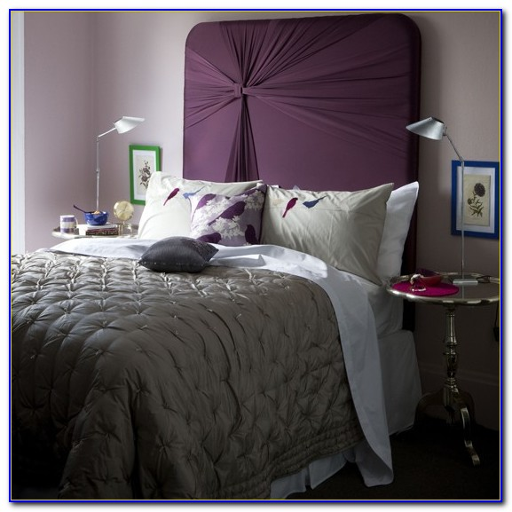 Purple And Gray Bedroom Curtains