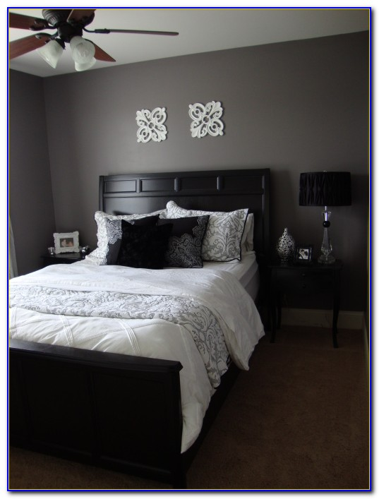Purple And Gray Bedroom Decor