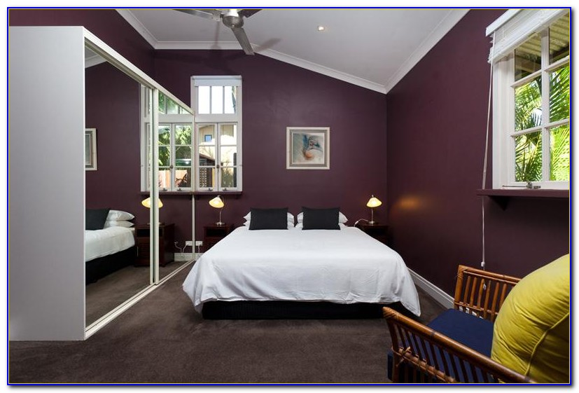 Purple And Gray Bedroom Paint