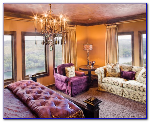 Purple And Orange Room Decor