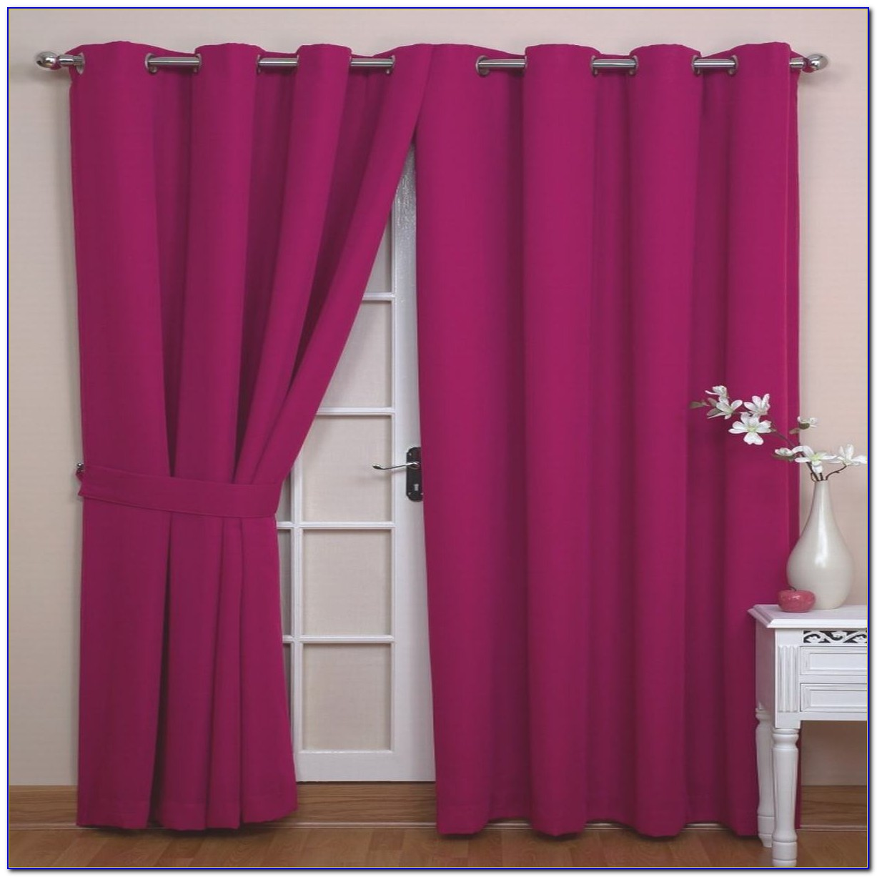 Purple Curtains For Children's Bedroom