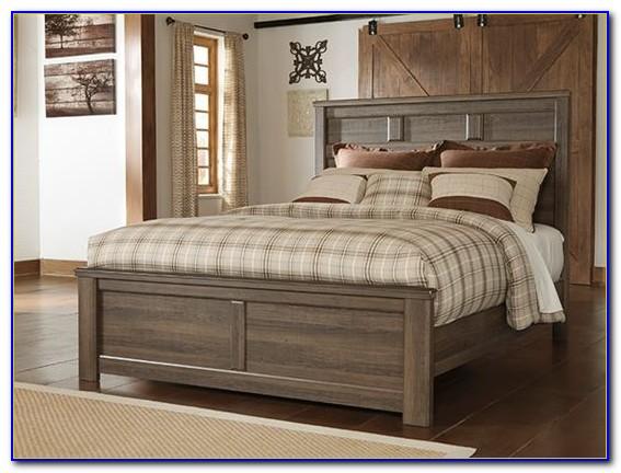 Queen Bed Set With Mattress