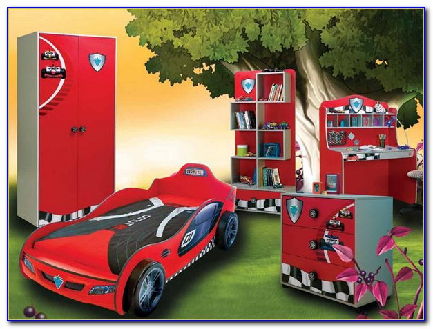 Race Car Bed Set