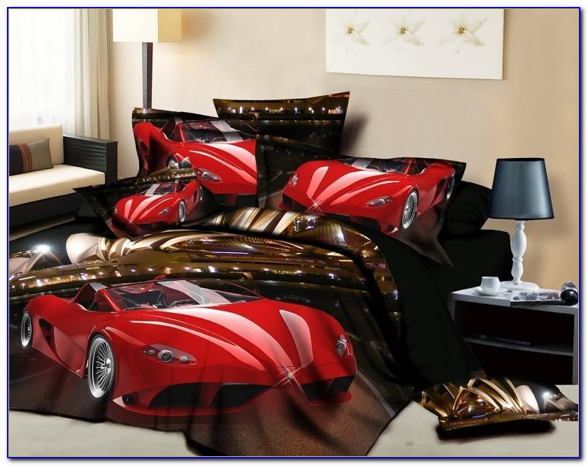 Race Car Bedroom Set