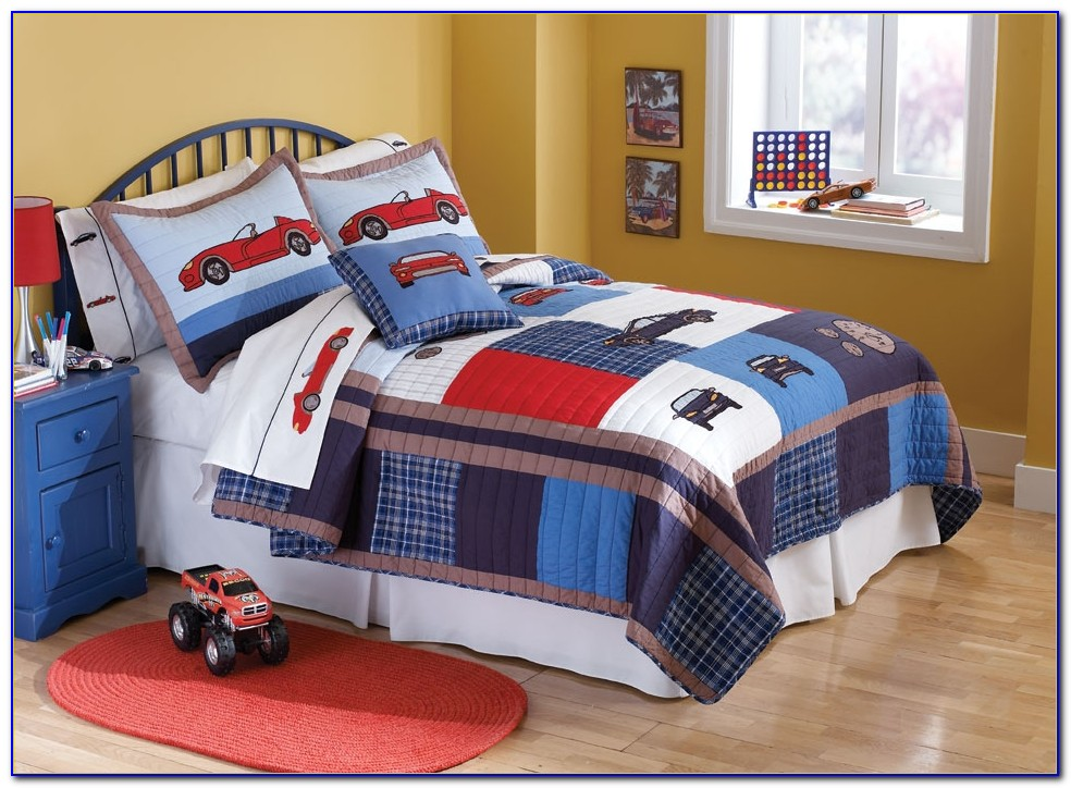 Race Car Twin Bed Set