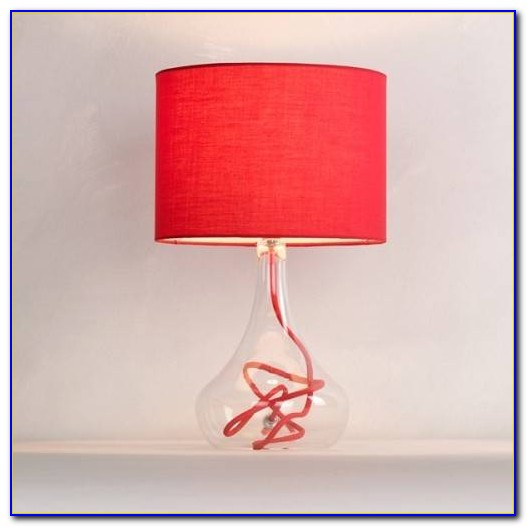 Red Table Lamps For Bedroom