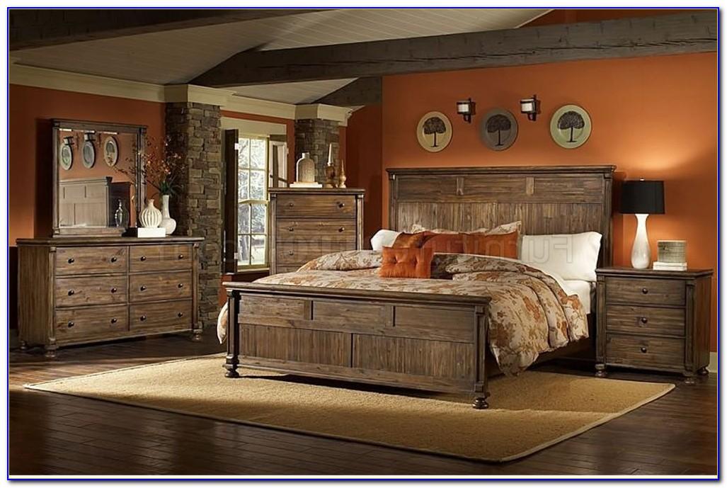 Rustic Wood Bedroom Sets