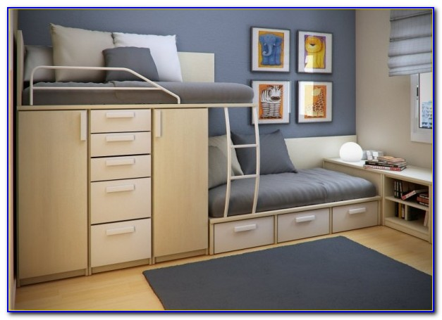 Save Space In Small Bedroom