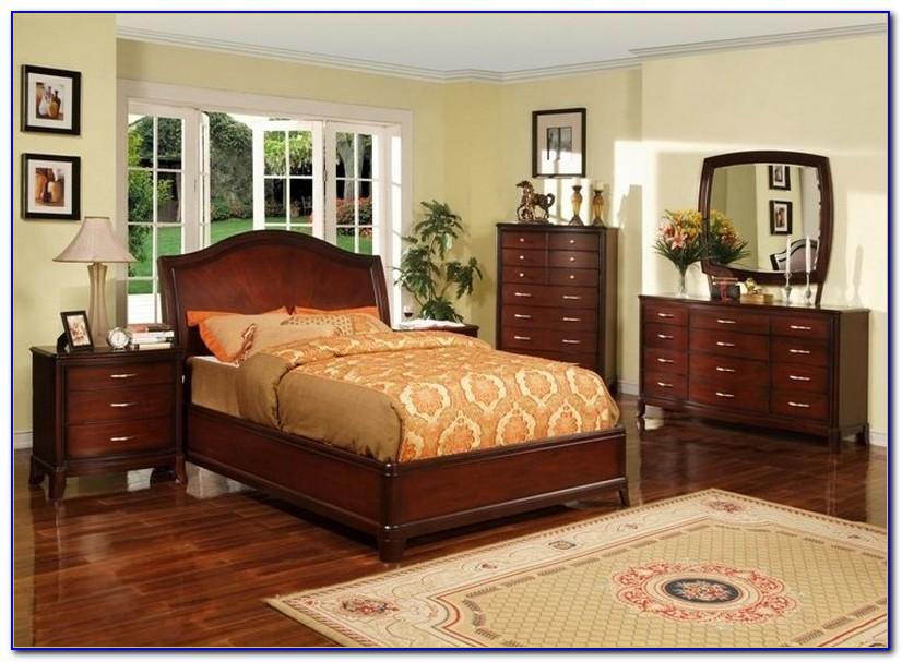 Solid Cherry Queen Bedroom Set