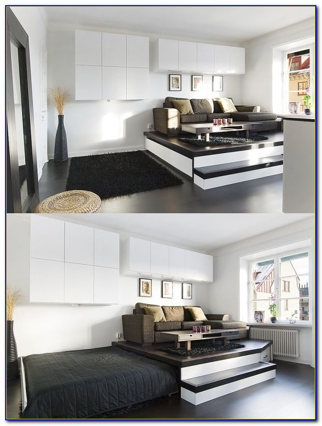 Space Saving Bedroom Furniture For Small Rooms