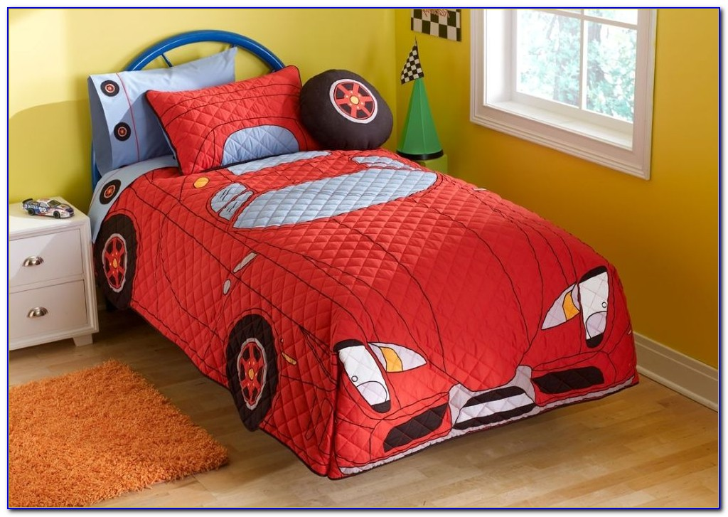 Toddler Race Car Bedroom Set