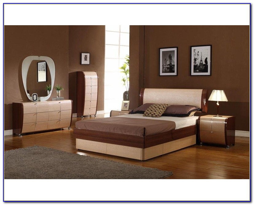 Two Tone Bedroom Furniture Sets
