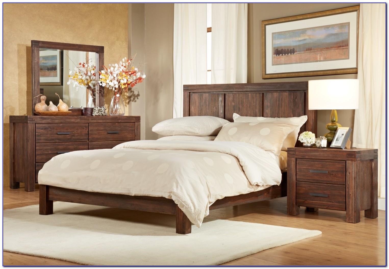 Used Solid Cherry Bedroom Set
