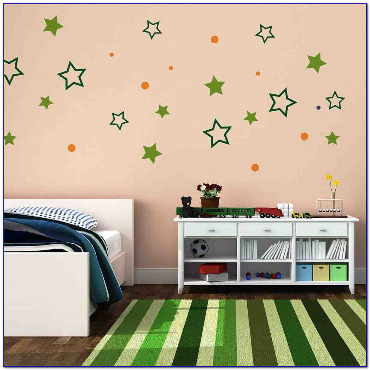 Wall Designs For Bedroom Paint