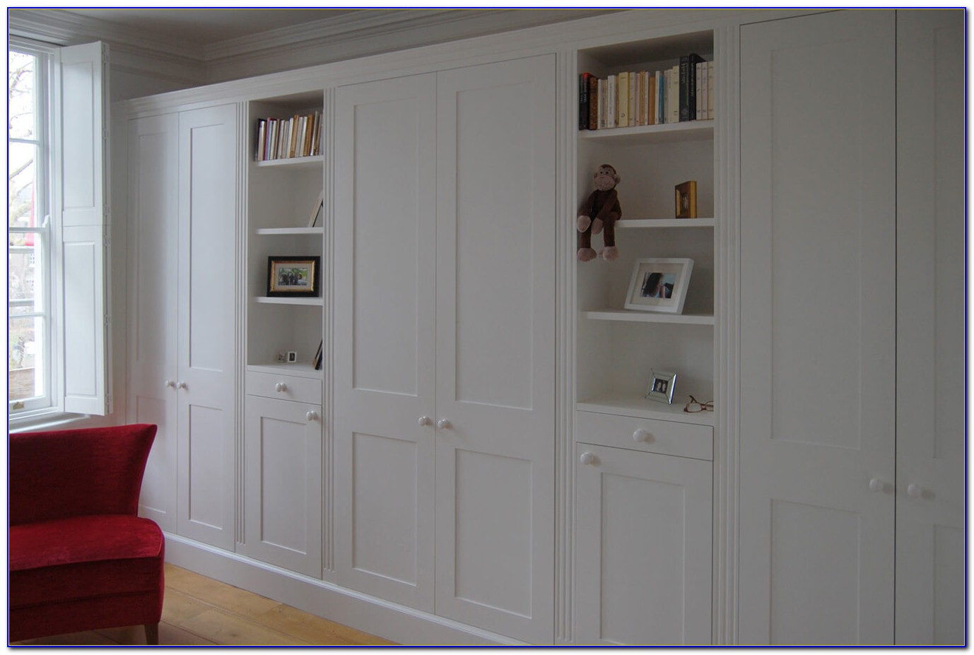 Wall To Wall Wardrobes In Bedroom