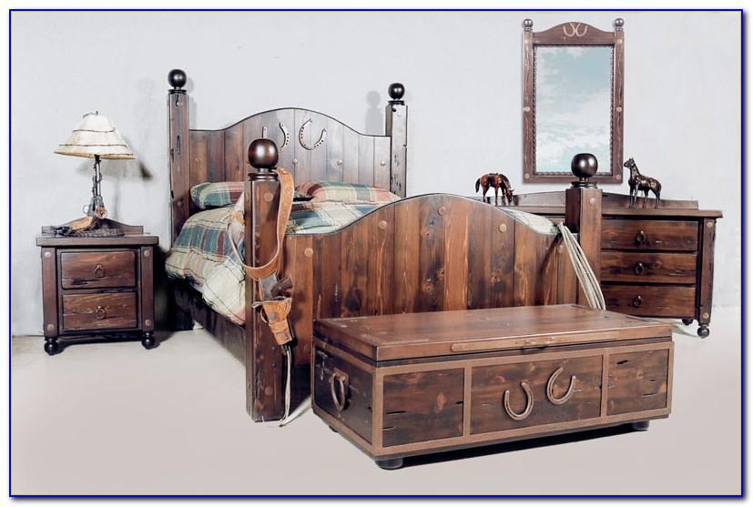 Western Bedroom Set Furniture