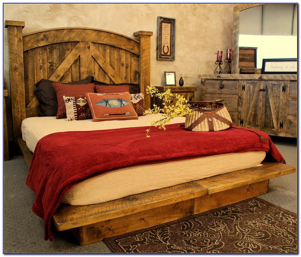 Western Style King Bedroom Furniture