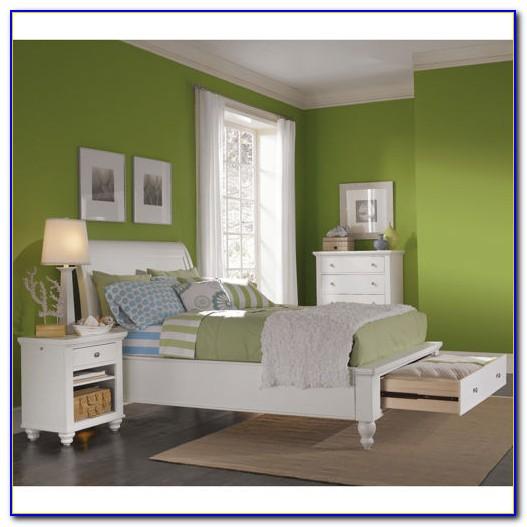 White 3 Piece Bedroom Furniture Set