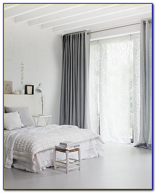 White Blackout Curtains For Bedroom