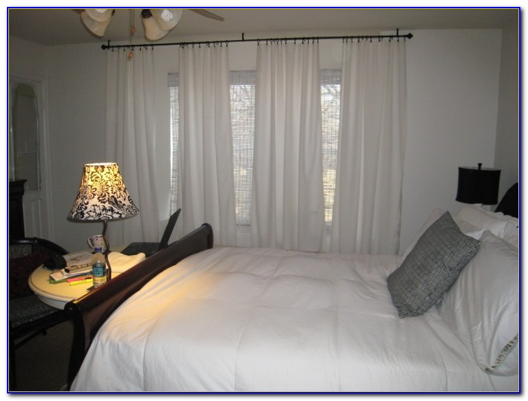 White Curtains For Master Bedroom