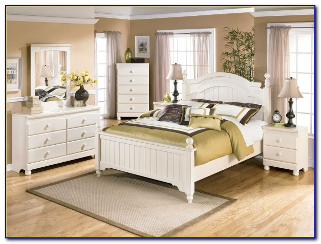 White King Size Bedroom Sets