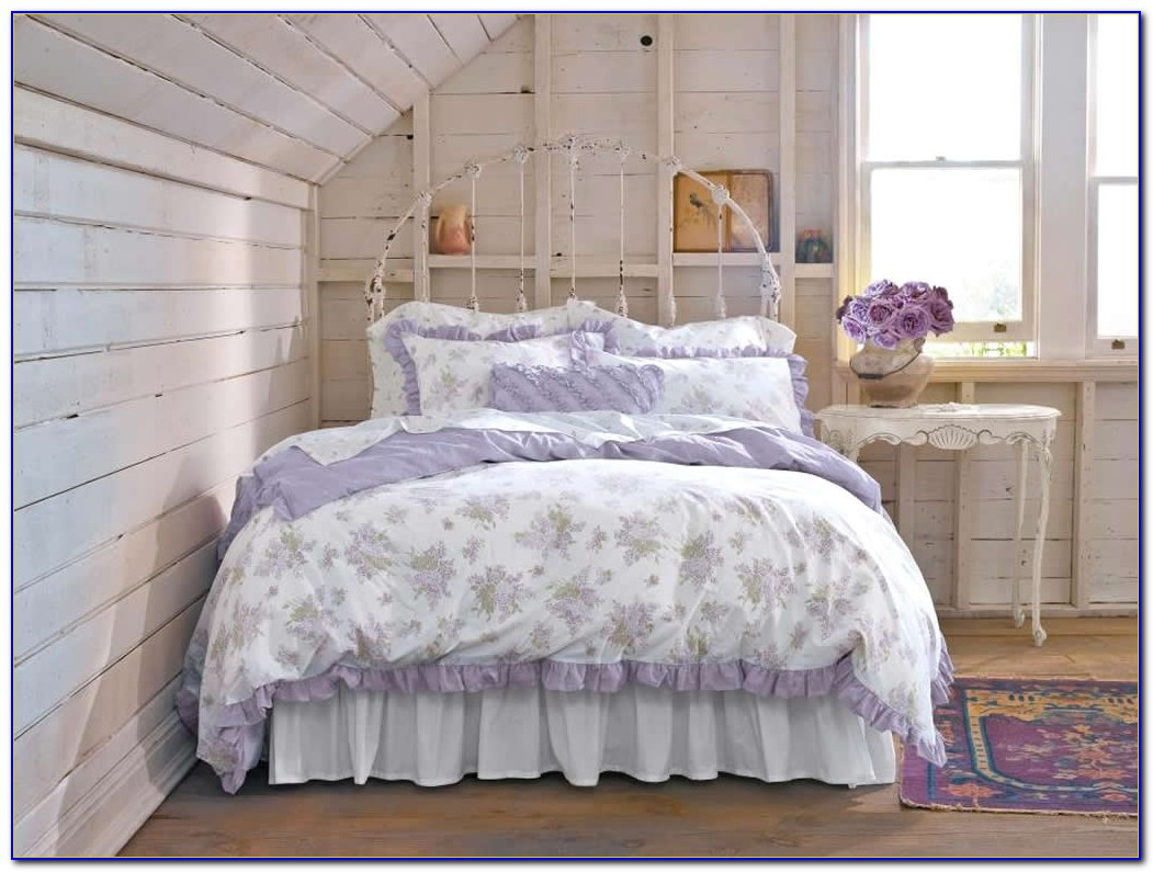 White Shabby Chic Bedroom Set