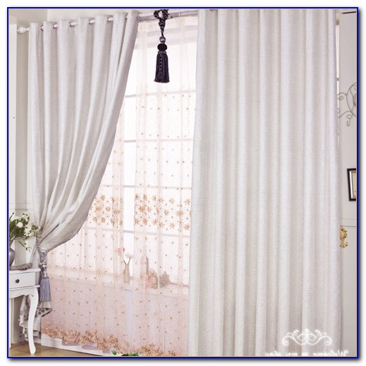 White Sheer Curtains For Bedroom
