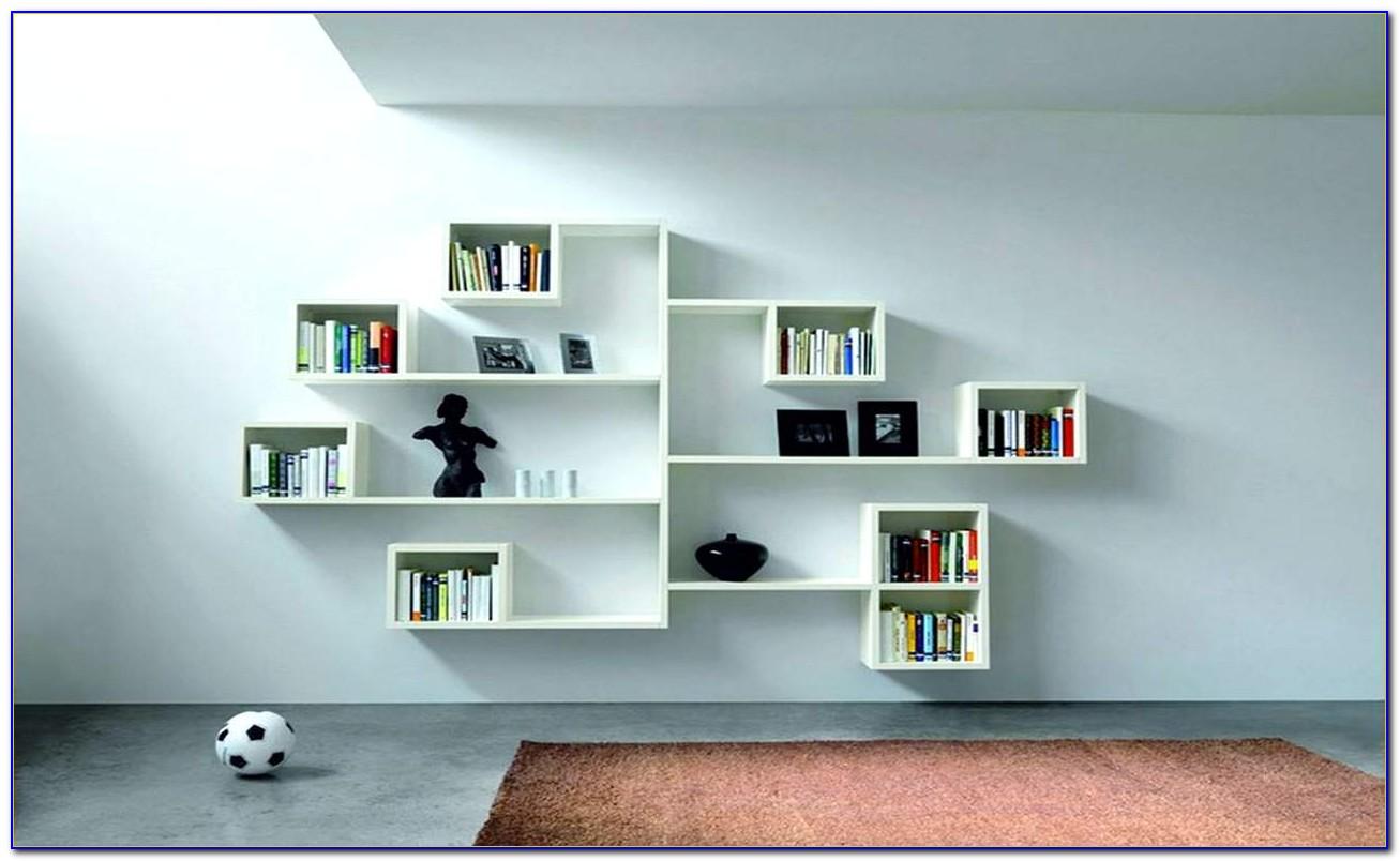 White Shelves For Bedroom Wall