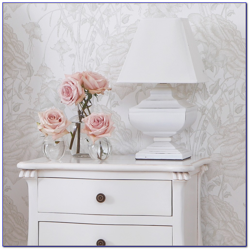 White Table Lamps Bedroom