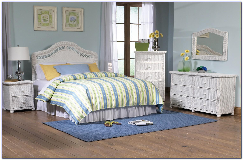 White Wicker Bedroom Set Pier One