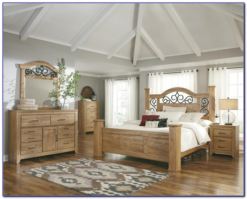 White Wood King Bedroom Sets