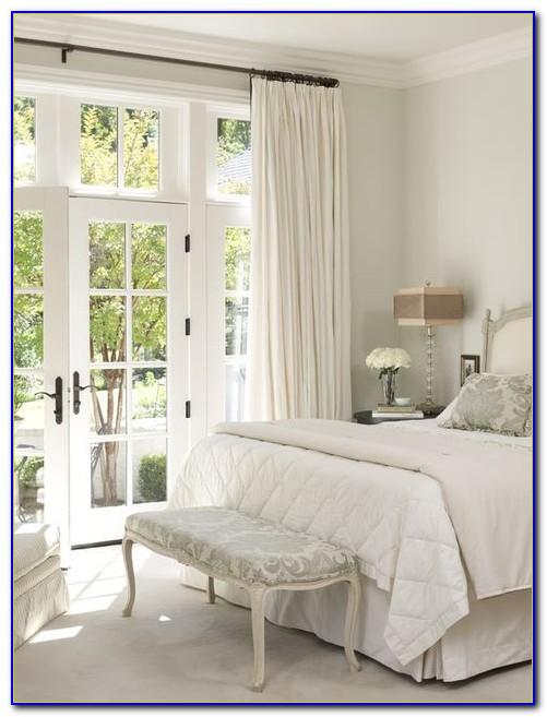 Window Treatment For French Doors Bedroom