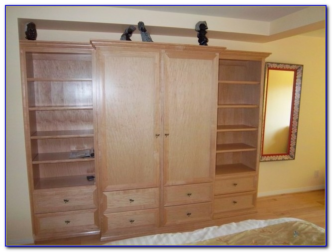 Wooden Storage Units For Bedroom