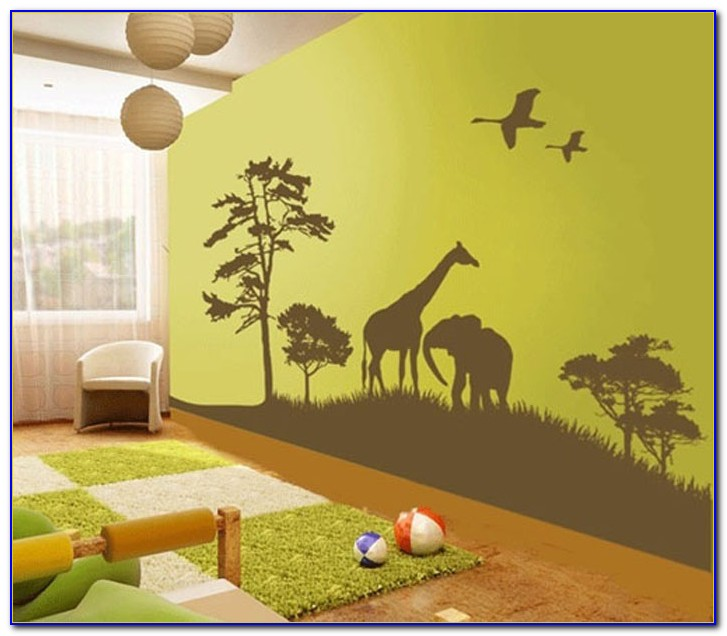 Animal Wall Decals For Kids Bedroom