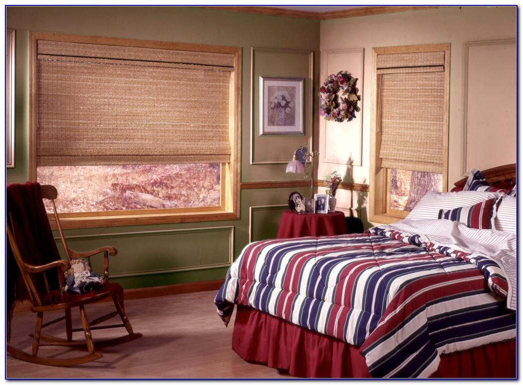Bay Window Curtain Ideas Bedroom