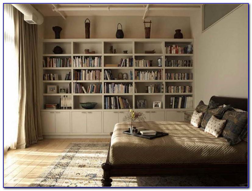 Bedroom Wall Shelves Ideas