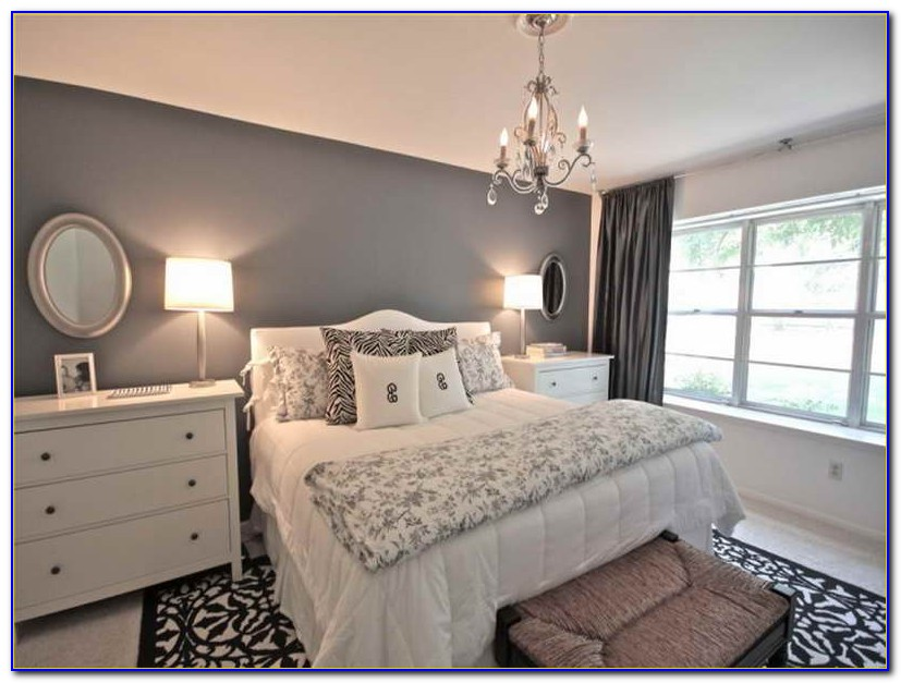 Black And Gray Bedroom Decorating Ideas