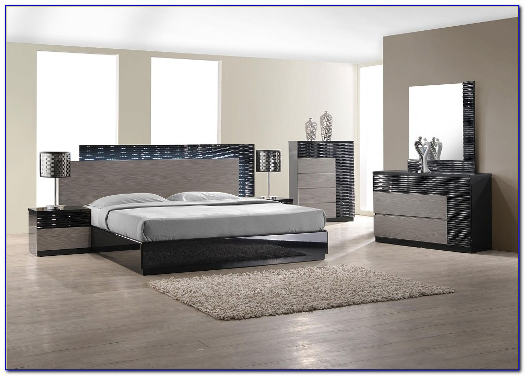Black And White Contemporary Bedroom Furniture