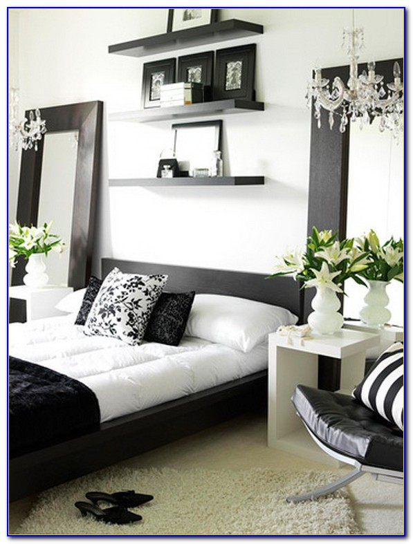 Black And White Contemporary Bedrooms
