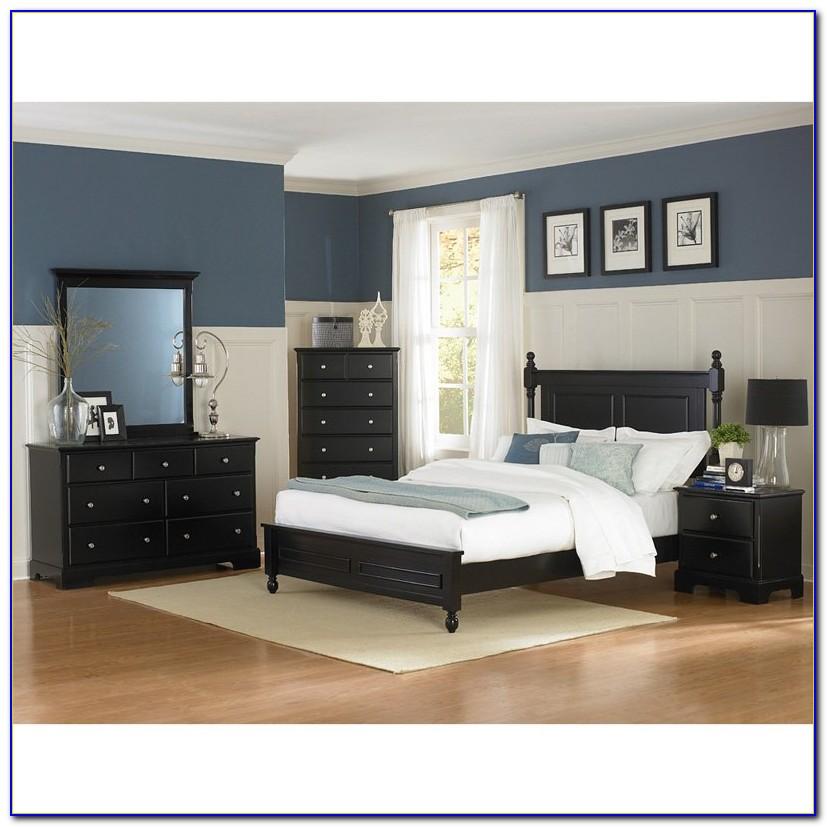 Black Poster Bedroom Set