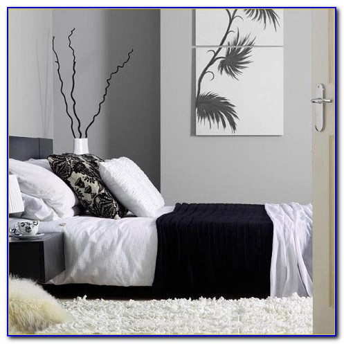 Black White And Grey Bedroom Decor