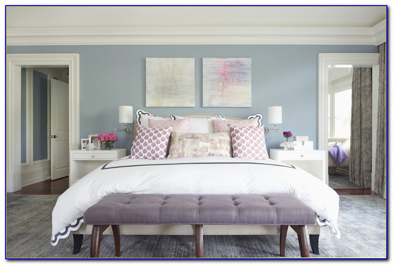 Blue And Purple Bedroom Accessories