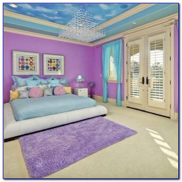 Blue And Purple Bedroom Ideas